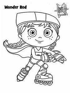 Red Hood - Free Coloring Pages