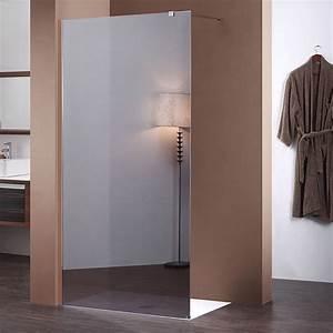 Paroi De Douche Miroir : paroi fixe miroir de 140 cm pour douche de salle de bain ~ Dailycaller-alerts.com Idées de Décoration