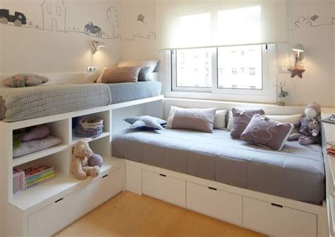 childrens bed with best 25 small rooms ideas on small