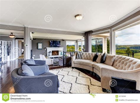 living room interior in luxury house stock image image 42730589