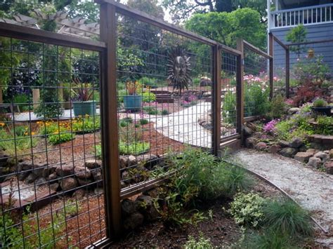 fence to keep out deer garden inspiration