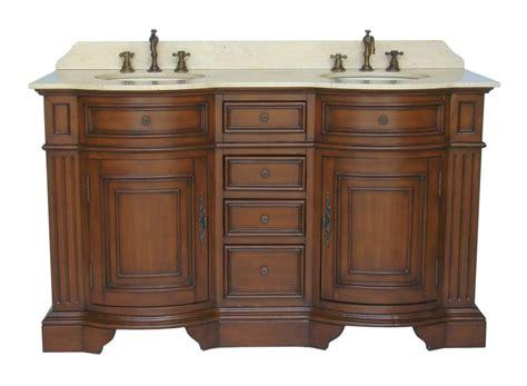 Adelina Inch Antique Double Sink Bathroom Vanity