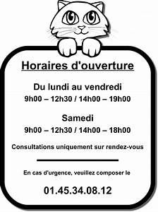 Horaire D Ouverture Gifi : horaires d 39 ouverture de la clinique clinique v t rinaire ~ Dailycaller-alerts.com Idées de Décoration