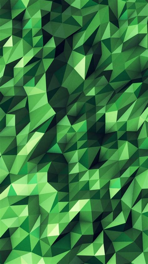 green geometric wallpaper wallpapersafari