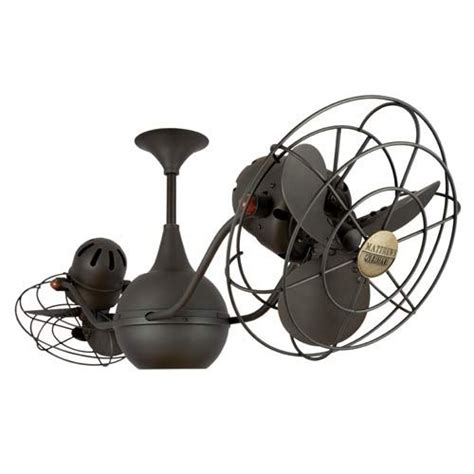 Gyro Ceiling Fans With Lights by Minka Aire Vintage Gyro Rubbed Bronze 42 Inch Ceiling