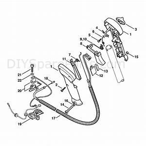 Stihl Fs 450 Clearing Saw  Fs450z  Parts Diagram  Control
