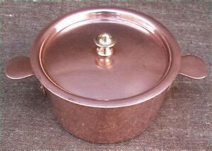 french tin lined copper lidded casserole pan timbal chef cookware dehillerin ebay
