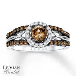 chocolate diamonds wedding rings levian chocolate diamonds 3 4 ct tw engagement ring 14k gold