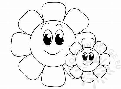 Flowers Printable Coloring