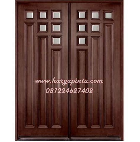 desain pintu rumah utama model terbaru pintu kupu tarung