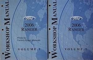 2006 Ford Ranger Factory Service Manual Set Original Shop
