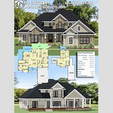 Plan 46320la Attractive Traditional House Plan In 2019