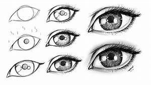 How to Draw a Female Eye Step by Step - YouTube