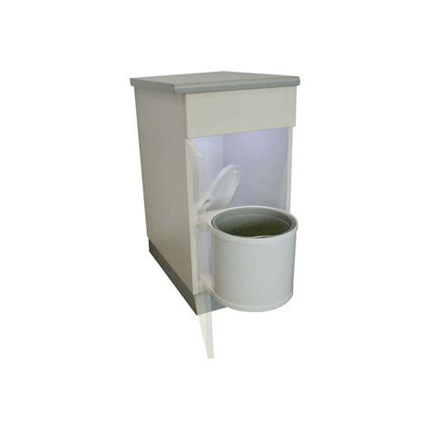 bac poubelle cuisine poubelle ronde blanche 1bac 12 litres ilovedetails com