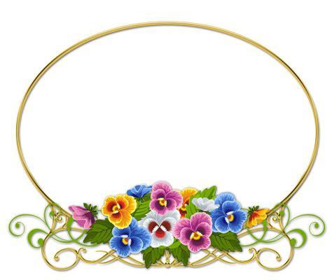 Marco de fotos PNG con flores Lindas orquideas para