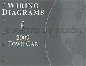 2009 Lincoln Town Car Wiring Diagram Manual Original