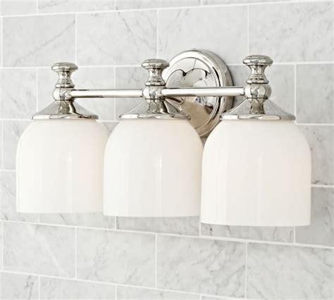 mercer triple sconce bathroom bathroom sconce lighting