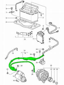 Porsche 997 Wiring Harness For Starter Motor And