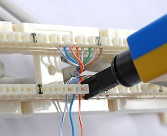 how to install a 110 block 110 block wiring 66 data connections