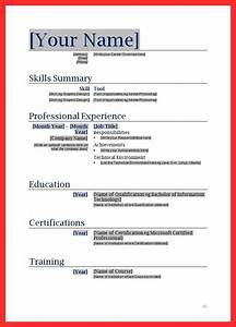 Beautiful free resume forms to fill out ideas resume for Free fill in resume