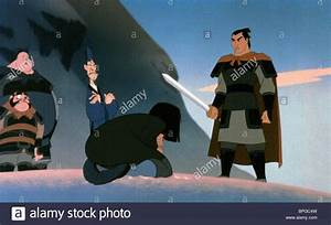 MULAN & SHANG MULAN (1998 Stock Photo, Royalty Free Image ...