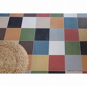 Carreaux De Ciment Adhesif Sol : carrelage neocim carreaux ciment 20x20 lin ~ Premium-room.com Idées de Décoration