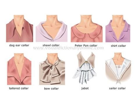 definition of blouse list of fashion terms and styles of collars of womens
