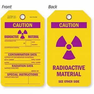 Radiation Warning Signs | X-Ray Radiation Warning Signs
