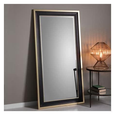 mirror leaner gold edmonton mirrors trim dark grain selectmirrors wall select