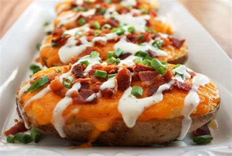 baked potatoes loaded twice baked potatoes cooking classy