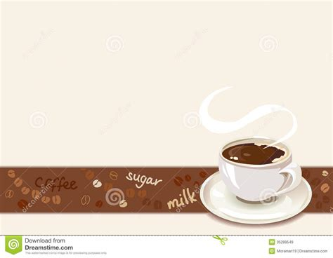 coffee border  cup  coffee royalty  stock images