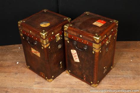 leather steamer trunk coffee table leather steamer trunk side tables luggage box coffee table
