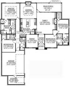 4 bedroom single house plans 4 bedroom one house plans residential house plans 4 bedrooms 1 bedroom house floor plans