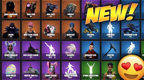 upcoming skins  blings  coming  fortnite