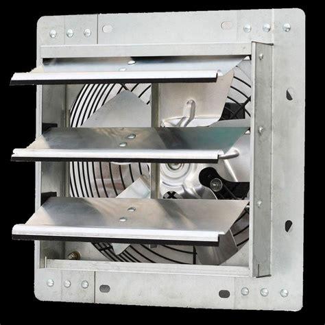 garage wall exhaust fan commercial wall mount shutter exhaust fan 10 quot workshop