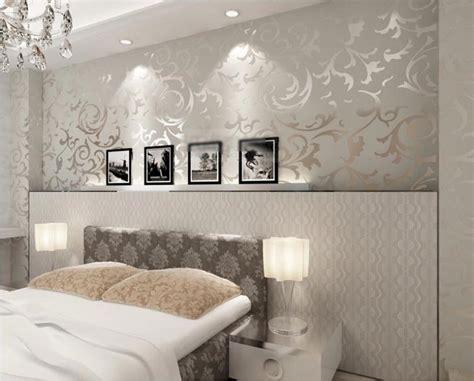 Tapeten Schlafzimmer Grau