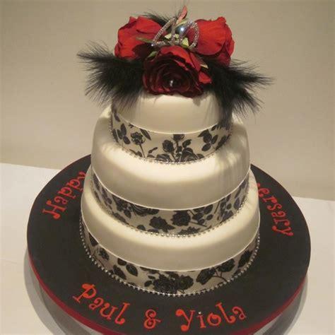 tier ruby anniversary cake neo cakes