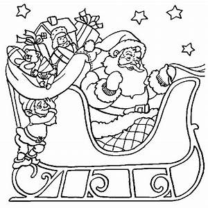Free Christmas coloring pages 023
