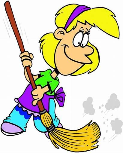 End July Tenancy Cleaner Clean Cleaning Cartoon