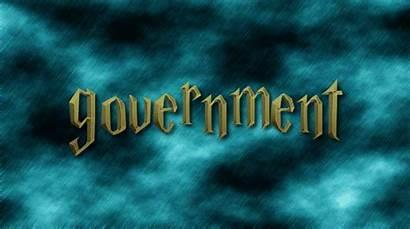 Government Word Hogwarts Logos Animated