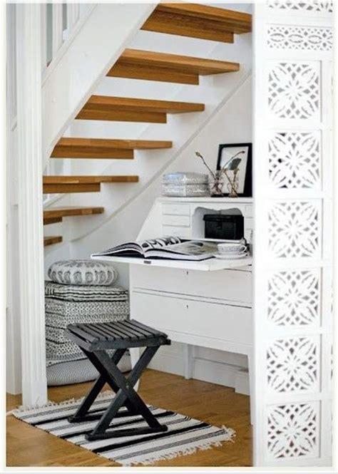 bureau sous escalier closet stairs storage ideas decosee com