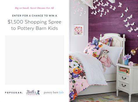 ,500 To Pottery Barn Kids