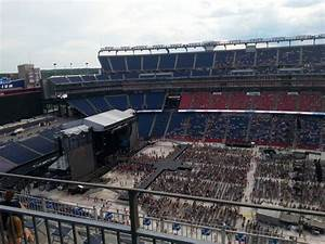 Gillette Stadium Seating Chart Concert Gillette Stadium Interactive Seating Plan