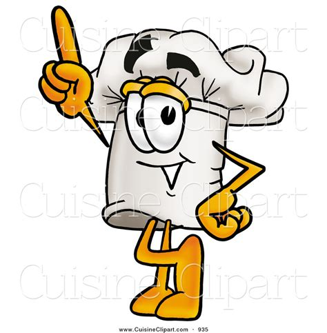 clipart cuisine cuisine clipart of a cheerful chefs hat mascot