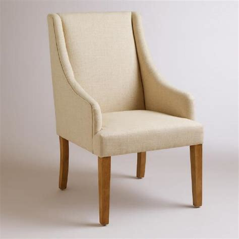 linen jayda dining chair world market