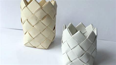 weave  fun paper basket diy crafts guidecentral youtube