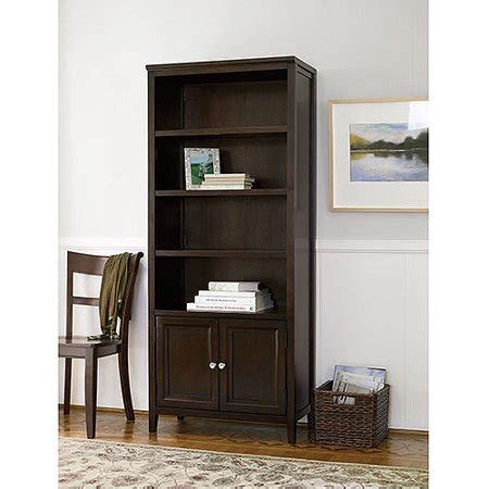 bookcases with doors canopy 4 shelf bookcase with doors finishes