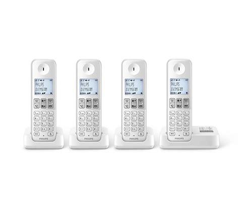 telephone bureau vall téléphone fixe sans fil avec répondeur d2354w fr philips
