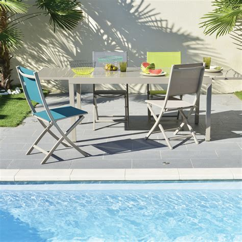 table ronde avec chaise best table de jardin extensible bricorama images awesome