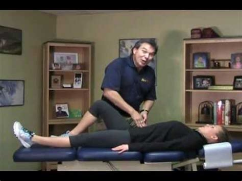Do It Yourself Len by Dr Len S Do It Yourself Test For Tight Hip Flexors And